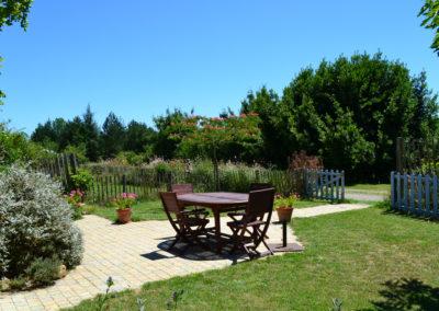 Jardin gîte Laurier