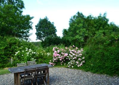Jardin du gîte Frênes